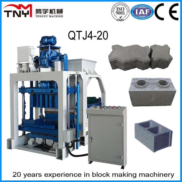 Low Investment High Quality Small Manual Type Block Making