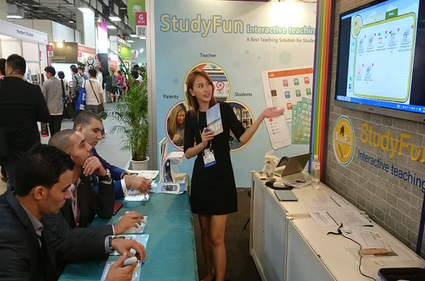 StudyFun Successfully Perform Eye-catching in Computex Taipei 2015