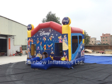 RB2009(4x4m) Inflatable Disney Theme Princess Bouncy Castle