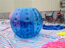 RB33007-4(1.5m)Inflatable Blue color body ball/inflatable Bumper Ball