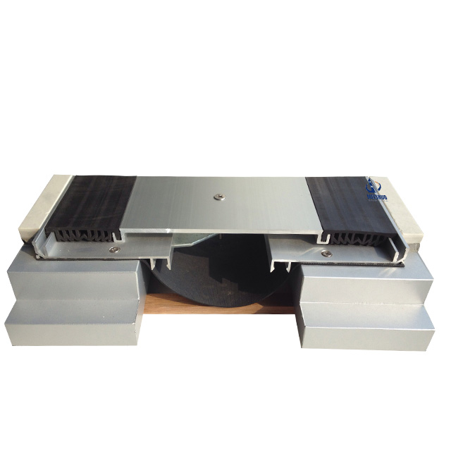 Aluminum Floor Rubber Insert Expansion Joint Cover MSDSJ