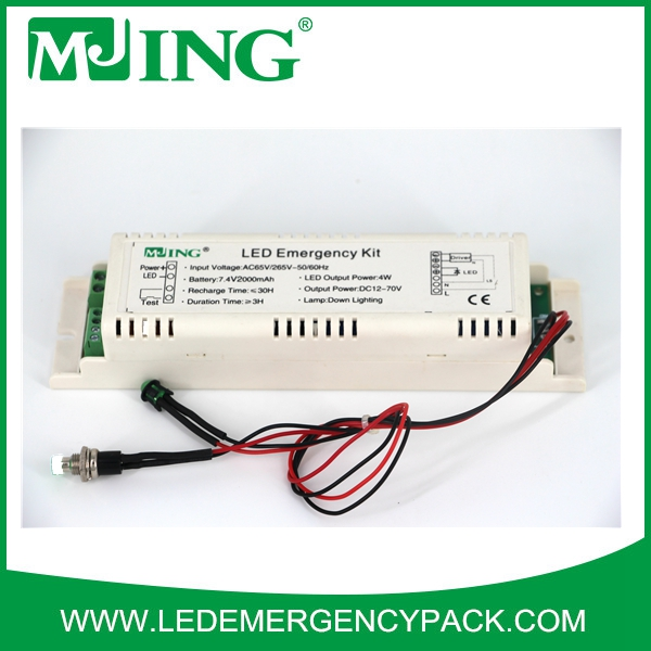 Li-on Batteries LED Panel Emergency converter with CE