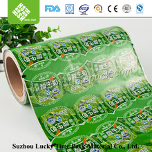 Aloe taste aloe vera drink packing roll film