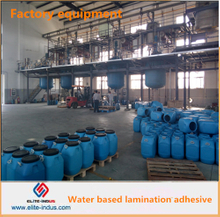Water based lamination adhesive