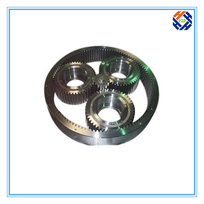 CNC Machined Parts for Gear and Gear Reducer-1