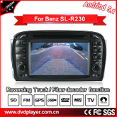 Anti-Glare car stereo benz sl R230 carplay android 7.13G Internet wifi connection