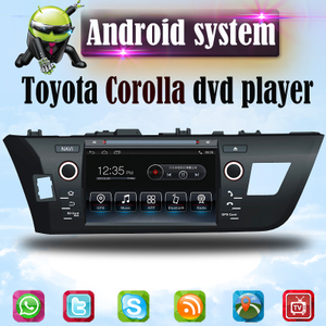 Android Toyota COROLLA  dvd Navigation