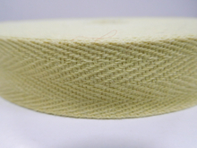 Aramid fiber webbing for fire protection garments&accessories