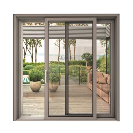Aluminum Patio Sliding Glass Sliding Closet Doors Sliding