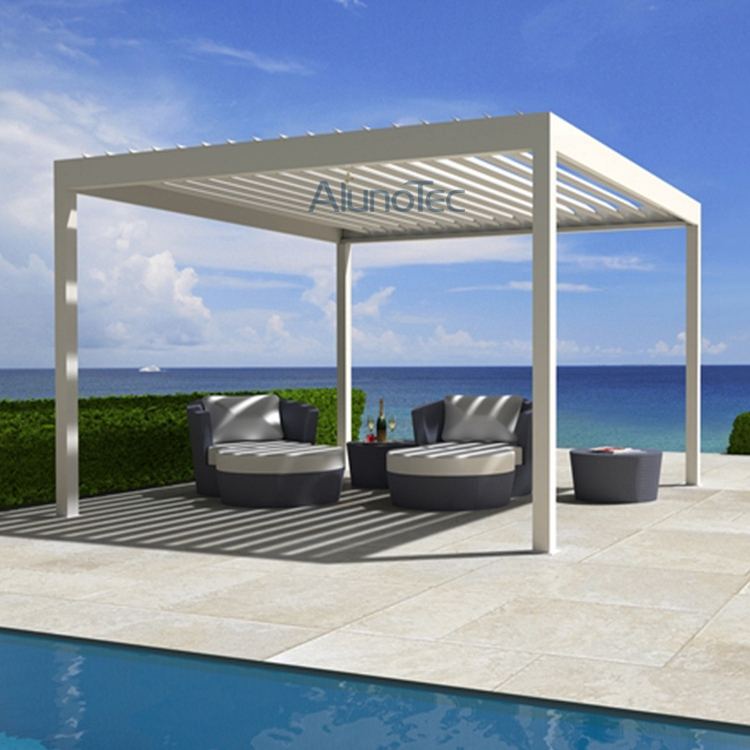 vergola opening roof pergola system buy motorized vergola garden vergola opening louver roof. Black Bedroom Furniture Sets. Home Design Ideas