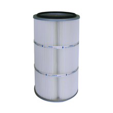 Spun Bonded Polyester Air Filter Cartridge with imported PTFE Media