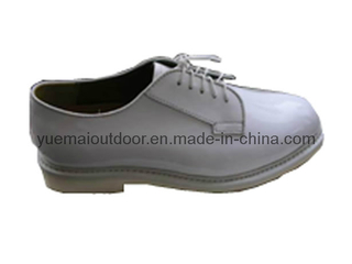 Military White Office Shoes