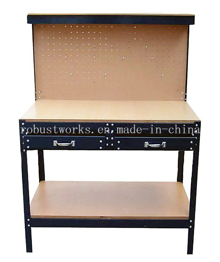 Heavy Duty Workbench with 2 Drawers (WB004)