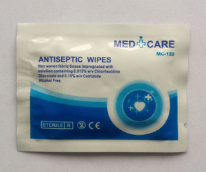 Antiseptic wipes