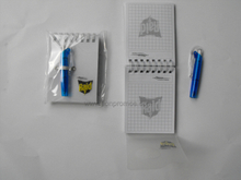 Cheap New Year Promotional Giveaways Gift Custom Printing Portbale Mini Coil Notebook with Pen