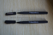 Events Giveaways Blackberry Logo Square Barrel Pen