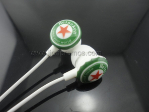 Heineken Beer Logo Gift Earphone