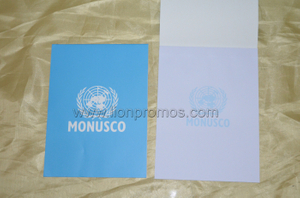 United Nation MONUSCO Logo Office Sticky Memo Pad