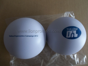 Tullow Oil Ergonomics Campaign Gift PU Stress Reliever Ball
