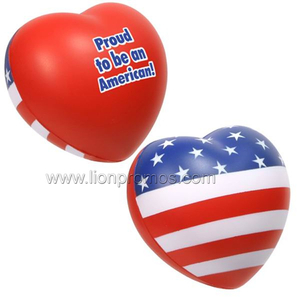 PU Heart ,Flag etc PU Promotional Gifts