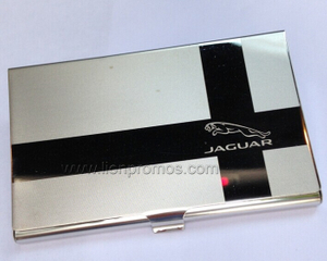Custom Logo Laser Engraved Busines Gift Stainless Steel Name Card Case
