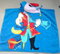 Desiny Cartoon Printing Cotton Velvet Bathing Poncho