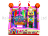 Inflatables Colorful Candy Castle Park New Design