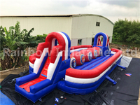 RB9004-6(17x6.3x3.9m) Inflatable big baller wipeout game