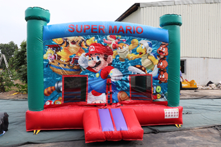 Super Mario Inflatable Kid Castle