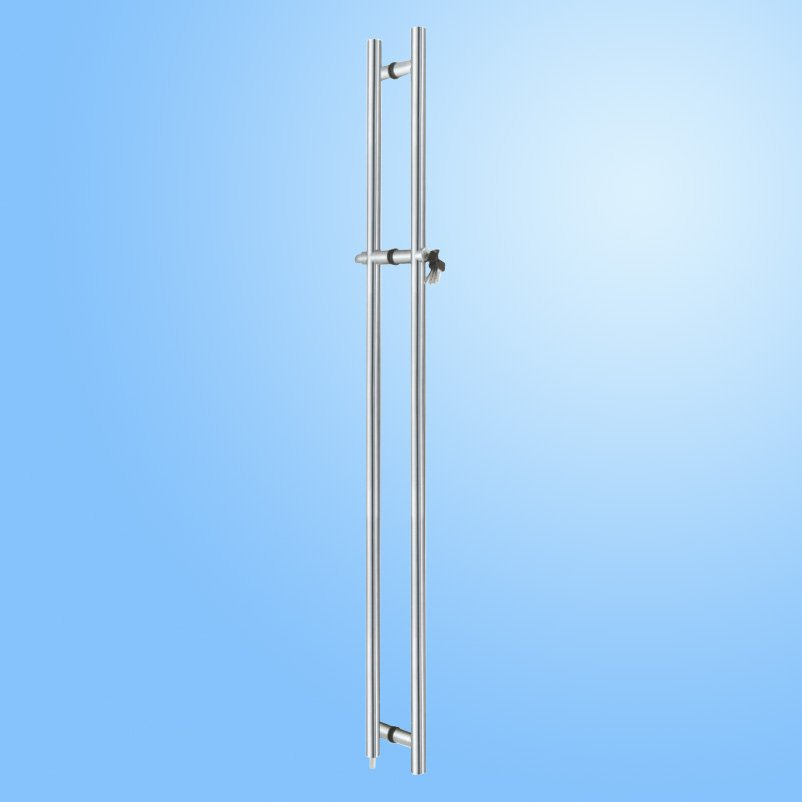 Door Pull Handle with Lock