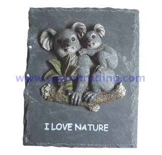 Australian Koala wall hanging faux taxidermy animal ornaments resin craft