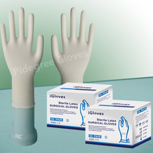 Disposable Surgical Gloves-Powdered