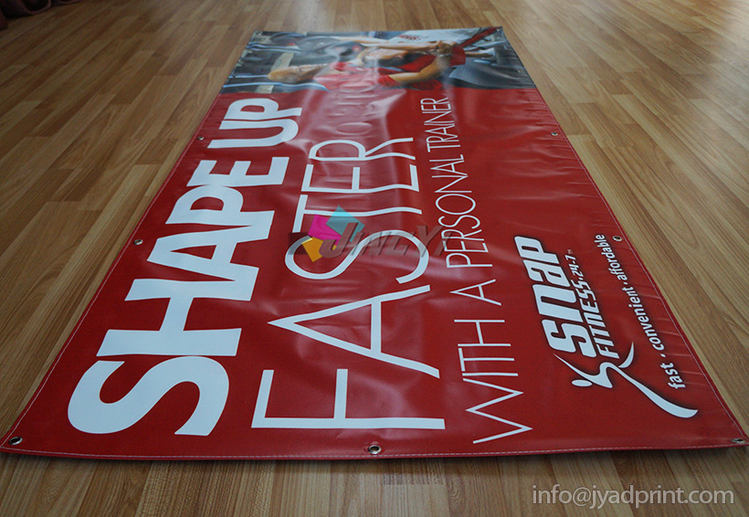 Double Sided Printed Banner, Full Color Digital Print PVC Vinyl Sign Banner, Both Sided Printed Advertising Display Banner, Two Side Printed Promotion Event Banner