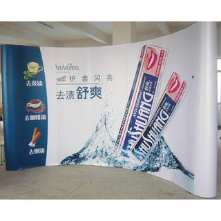 Big Events Exhibition 3X5 PVC Wall Backdrop Pop Up Banner Magnetic POPup Display Stand