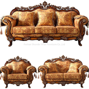 929 Antique Fabric Sofa
