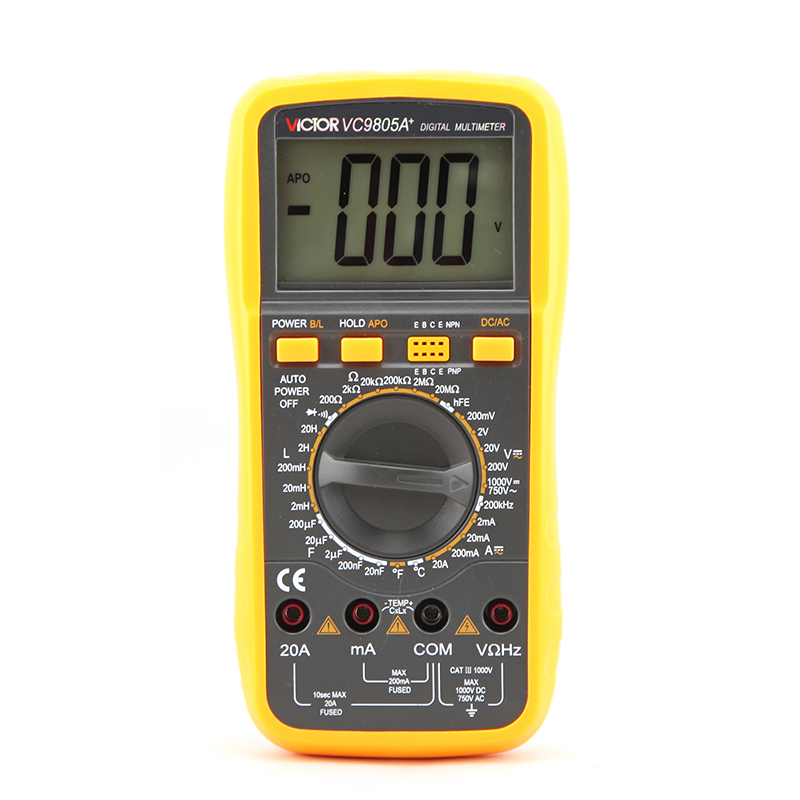 VC9805A+  3 1/2 Digital Multimeter
