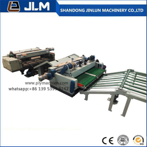 Automatic 8 Feet Plywood Core Veneer Production Line
