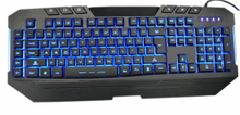 Professional Gaming Keyboard for High-End Use (KBB-007B)