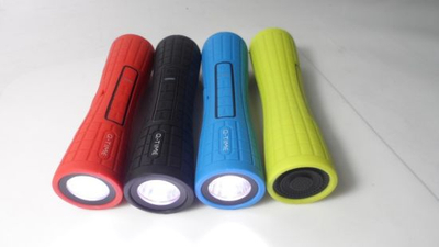 Outdoor Wireless Speaker with Flashlight Style No. Spb-801b