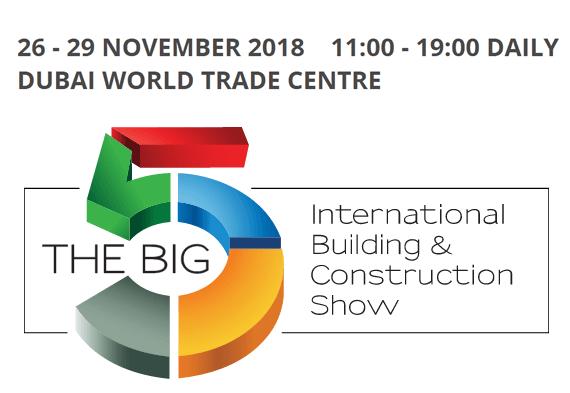 26 - 29 NOVEMBER 2018 DUBAI WORLD TRADE CENTRE