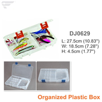 DJ0629 Large Sized PP Material Clear Organized Box