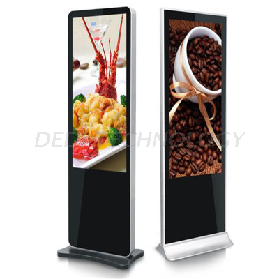 New! 65inch HD Floor Standing LCD Indoor Digital Advertising Display with Network 3G/WiFi