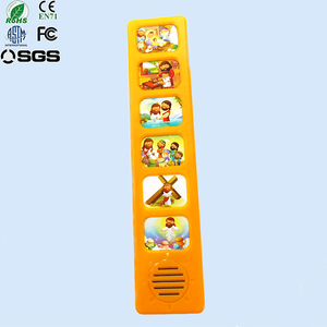 Pre-record new design popular high quality sound module for children book