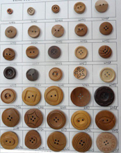 Wooden Button, Craft Wooden Button