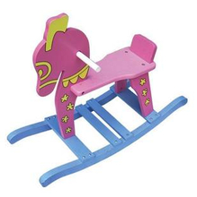 Wooden Rocking Horse, Wooden Ride on Toys