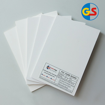 White PVC Foam Board for UV-printing