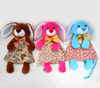 Colorful Rabbit Toy Easter Bunny Plush Bags for Decoration