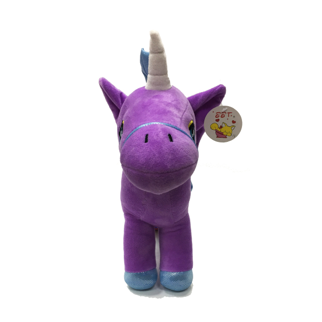 The Creative Combination of Unicorns And Mermaids Shows The Smooth, Soft And Custom LOGO of Fresh Plush Toys