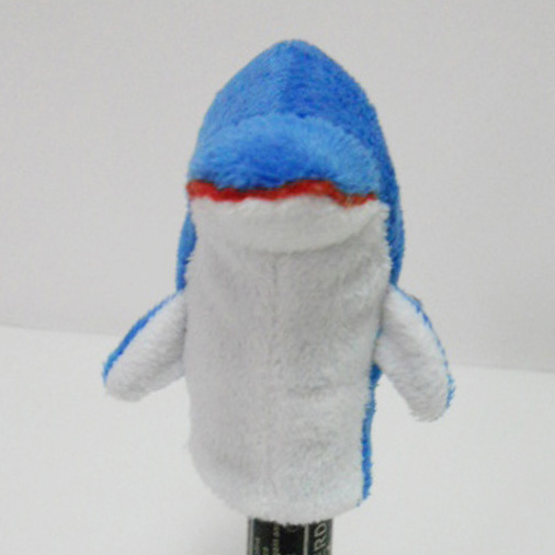 Plush Stuffed Toy Dolphin Finger Puppet for Kids