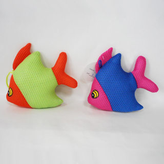 Lovely Funny Sandwich Fabric Fish Baby Bath Toy